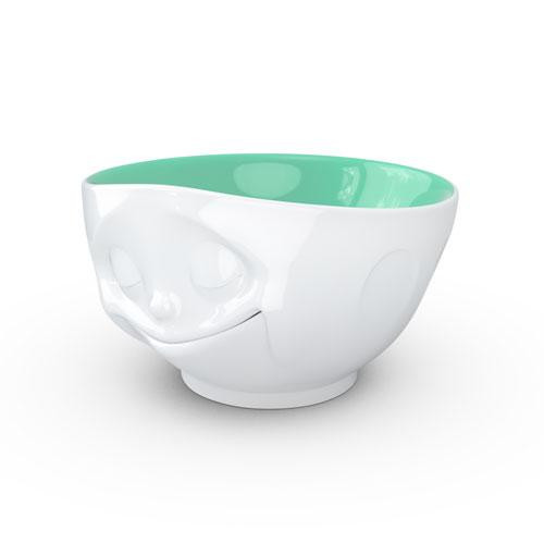 TV Cups TV Milky Coffee Cup - Dish on the inside jade happy 0,5 L