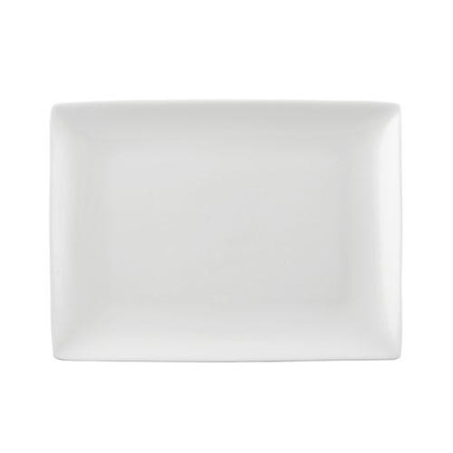 Rosenthal Selection,'Jade white' Platter rectangular 25 x 19 cm