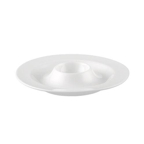 Rosenthal Selection,'Jade white' Egg cup plate,13 cm