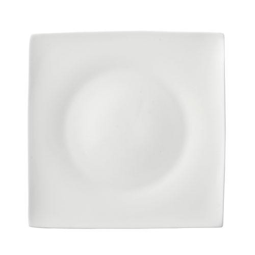Rosenthal Selection,'Jade white' Plate square flat 23 cm