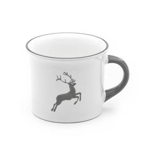 Gmundner Ceramics,'Grey Deer' Coffee Cup 0,24 L