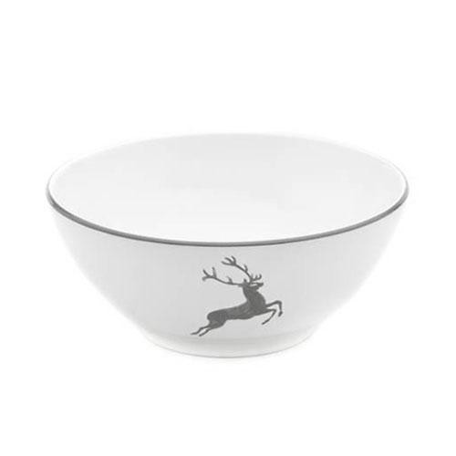 Gmundner Ceramics,'Grey Deer' Bowl round 20 cm