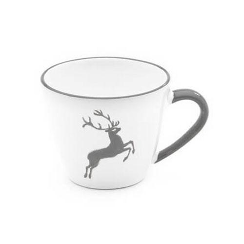 Gmundner Ceramics,'Grey Deer' Coffee Cup gourmet 0,2 L