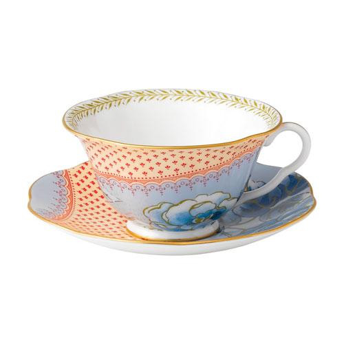 Wedgwood,'Butterfly Bloom' Tea Cup Blue 2 pcs
