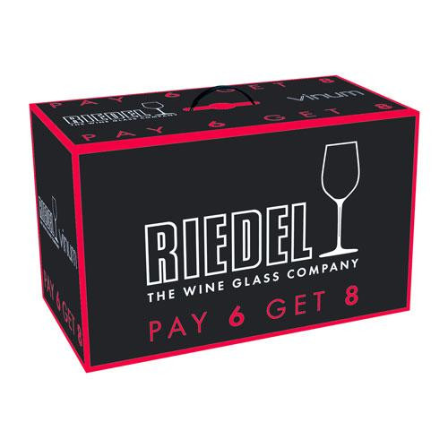 Riedel Glasses 'Vinum' Wine glasses set 'Vinum Chardonnay Buy 8 Pay 6' 350 ccm
