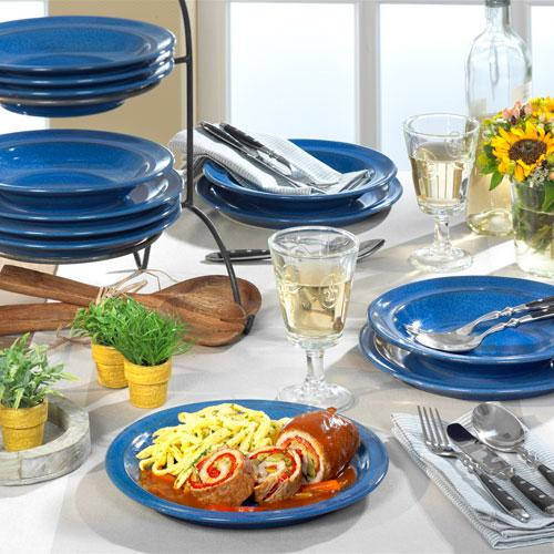 Friesland,' Ammerland Blue' Tableware set 12 pcs