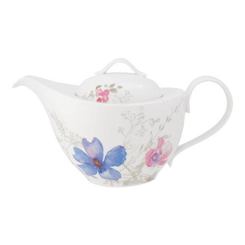 Villeroy & Boch,'Mariefleur Gris Basic' Teapot 6 Persons