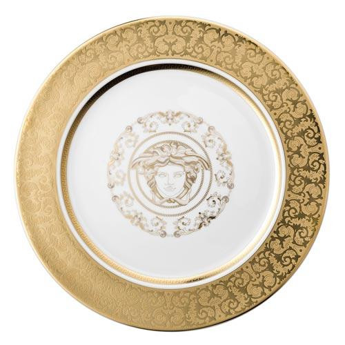 Rosenthal Versace,'Medusa Gala Gold' Charger plate / underplate 30 cm