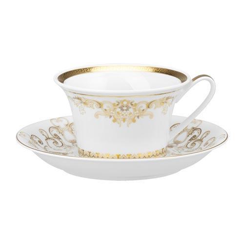 Rosenthal Versace,'Medusa Gala Gold' Tea cup,2 pcs 0.22 L