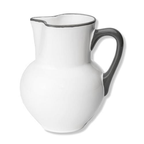 Gmundner Keramik,'Grauer Rand' Jar 'Wiener Form' 1,5 L