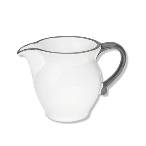 Gmundner Keramik,'Grauer Rand' Creamer/ milk jug 0.3 L