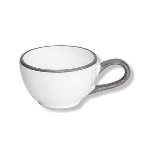 Gmundner Keramik,'Grauer Rand' Mocca cup 0.06 L