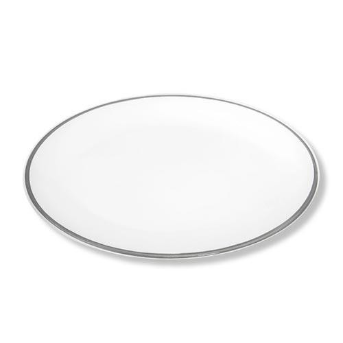 Gmundner Keramik,'Grauer Rand' Plate oval 28x21 cm
