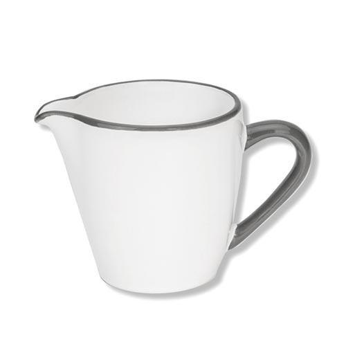 Gmundner Keramik,'Grauer Rand' Creamer/ milk jug 'Gourmet' 0.2 L