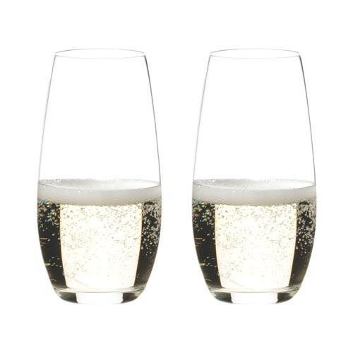 Riedel Glasses,'O' Champagne Glasses 2pcs Set