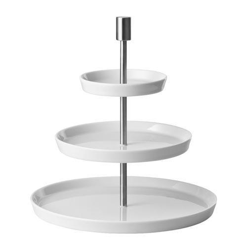 Thomas Loft white Etagere round 3-piece plate 12-19-27 cm
