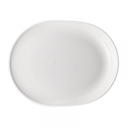 Thomas ONO white BBQ plate oval / grill plate 26x20 cm