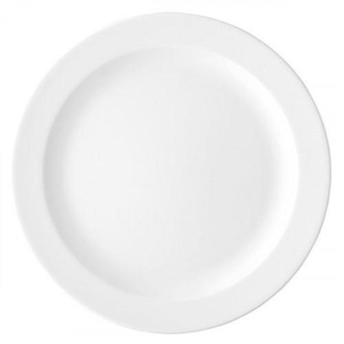 Arzberg,'Form 1382 white' Dinner Plate flat 26 cm