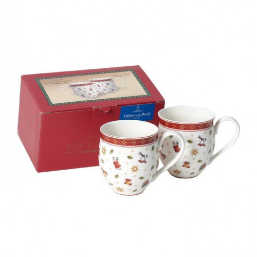 Villeroy & Boch,'Toy's Delight' Mugs Toys with handles set 2 pcs