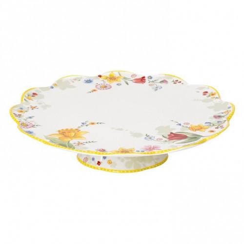Villeroy & Boch,'Spring Awakening' Cake plate footed,33 cm