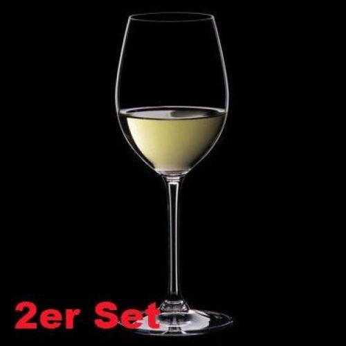 Riedel Glasses 'Vinum' Sauvignon Blanc (Dessert Wine) 2 pcs Set 21.4 cm