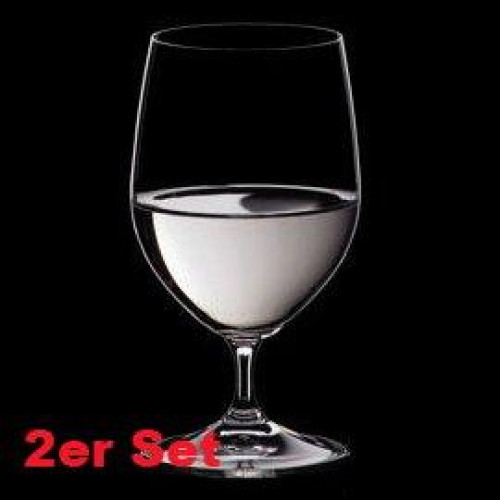 Riedel Glasses 'Vinum' Water 2 pcs Set 14.8 cm