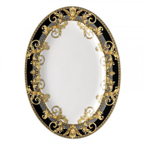 Rosenthal Versace,'Prestige Gala' Platter 34 x 24.5 cm
