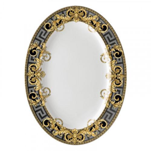 Rosenthal Versace,'Prestige Gala' Platter 40.5 x 30 cm