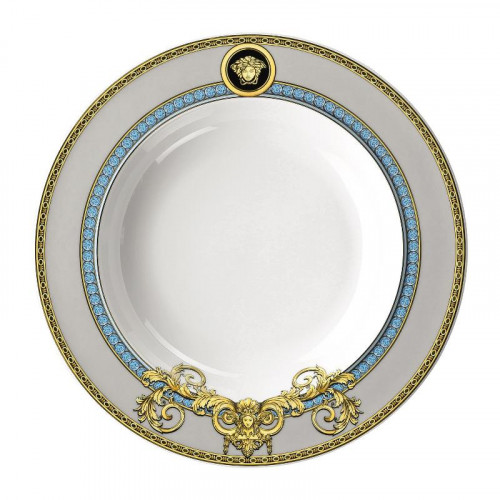 Rosenthal Versace,'Prestige Gala Le Bleu' Soup plate 22 cm