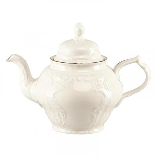 Rosenthal Selection,'Sanssouci Elfenbein Gold' Teapot 12 persons 1,25 L