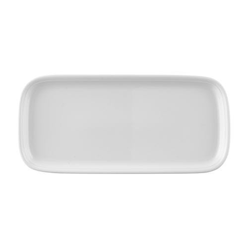 Thomas 'Trend White' Pie Platter Rectangular 34.5 x 16 cm