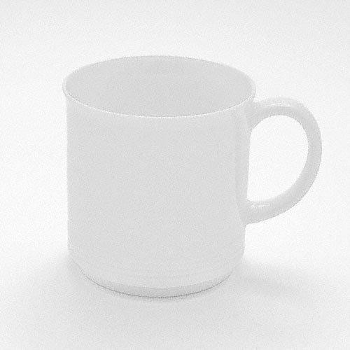 Friesland 'Jeverland White' Mug with Handle,Stackable 0.25 L