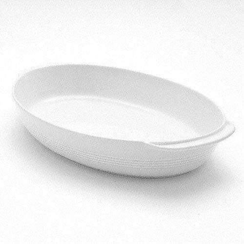 Friesland 'Jeverland White' Casserole / Gratin Pan,Oval 33.5 x 20.5 cm