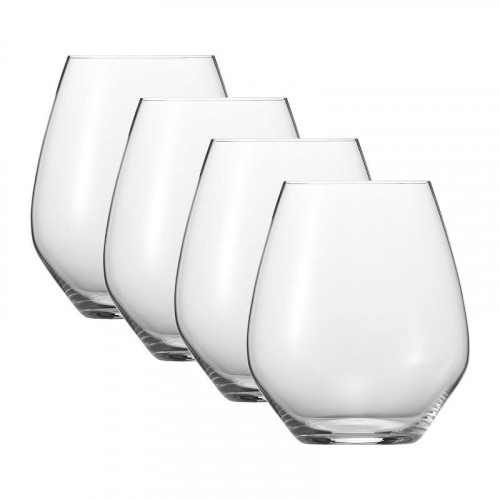 Spiegelau Gläser,'Authentis Casual' All purpose XL glass mug set of 4 pcs 625 ml
