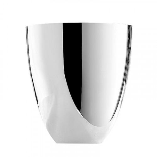 Robbe & Berking,'Tafelgeräte 90g hartglanz versilbert' Champagne cooler,d: 19.7 cm / h: 21.5 cm