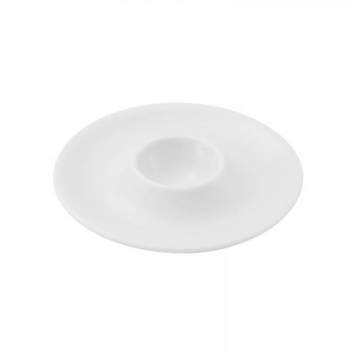 Friesland,'La Belle weiß' Egg Cup d: 13 cm