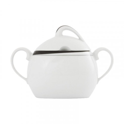 Friesland,'La Belle Black & White' Sugar Bowl 0.3 L