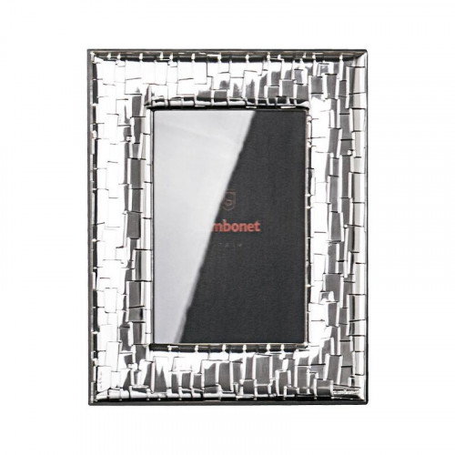 Sambonet,'Silberrahmen' Picture frame 'Skin' silver plated 9 x 13 cm