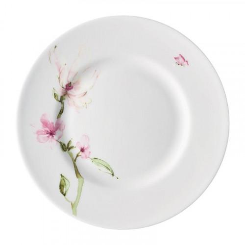 Rosenthal Selection,'Jade Magnolie' Breakfast plate with rim,23 cm
