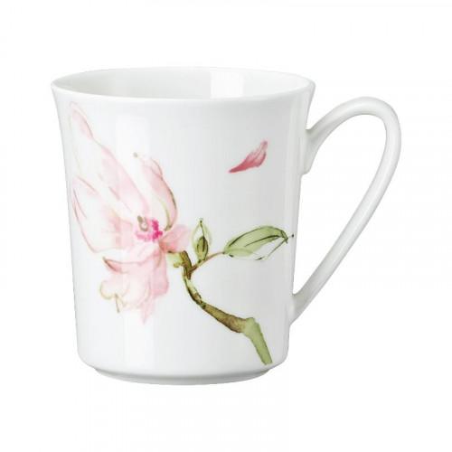 Rosenthal Selection,'Jade Magnolie' Mug with handle,0.40 L