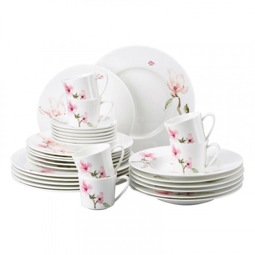 Rosenthal Selection,'Jade Magnolie' Dinnerware combined set,30 pcs