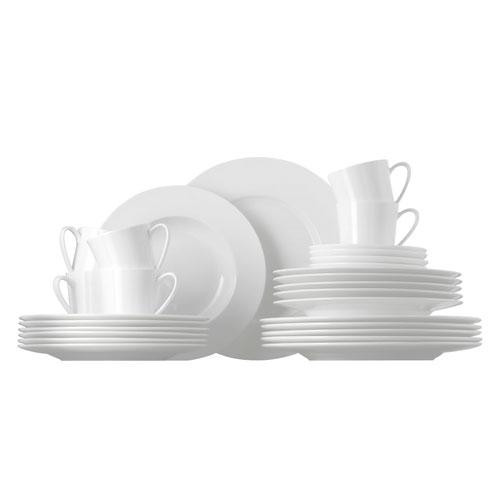 Rosenthal 'Jade White' Complete dinnerware set,30 pcs
