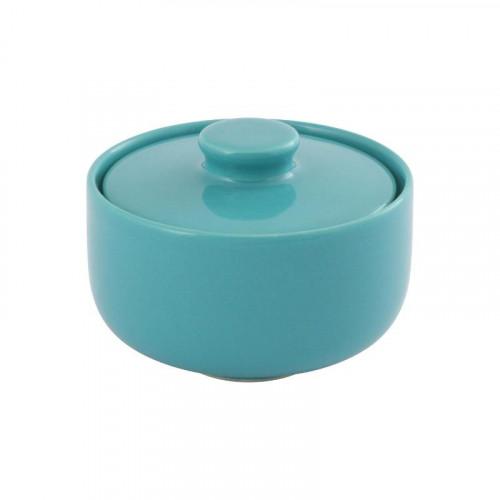 Friesland,'Trendmix Aquamarin' Sugar bowl/ box,0.25 L