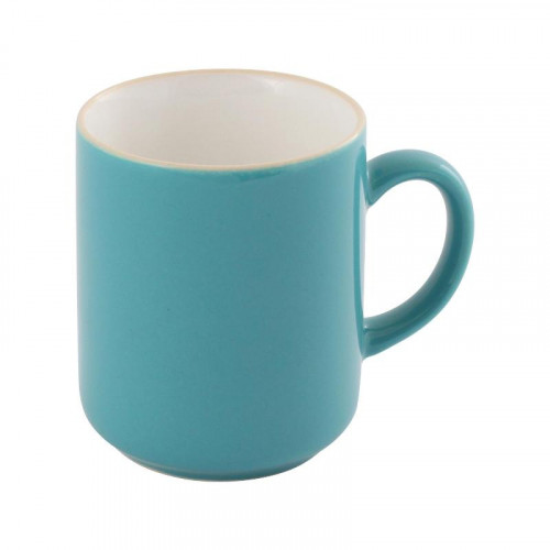 Friesland,'Trendmix Aquamarin' Mug with handle,280 ml