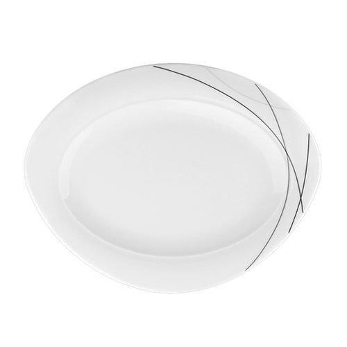Seltmann Weiden,'Trio Highline' Platter oval 31 cm