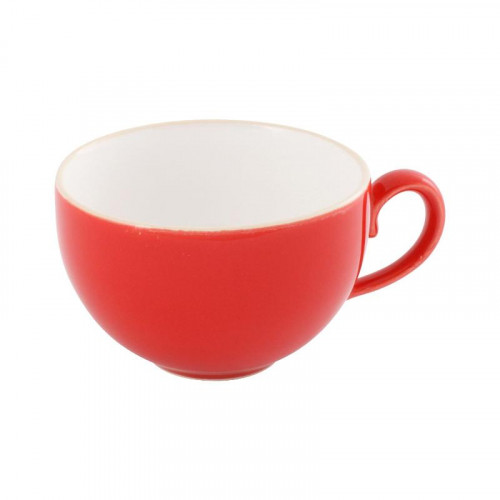 Friesland,'Happymix Rot' Coffee cup white inside,0.24 L