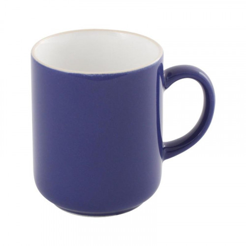 Friesland,'Happymix Blau' Mug with handle white inside,0.40 L