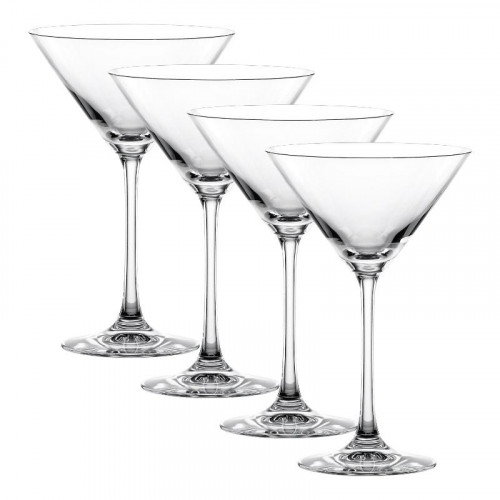 Nachtmann,'Vivendi Premium - Lead Crystal' Martini Glass 4 pcs Set 195 ml / h: 174 mm