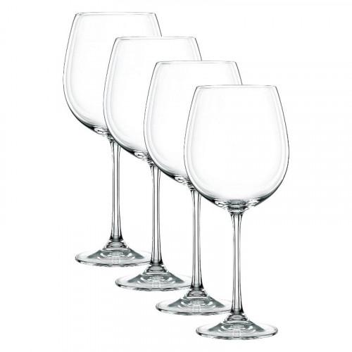 Nachtmann,'Vivendi Premium - Lead Crystal' Red Wine Goblet,4 pcs set 727 ml / h: 242 mm