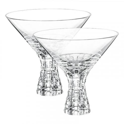 Nachtmann,'Bossa Nova' Martini Glass Set 2 pcs 340 ml